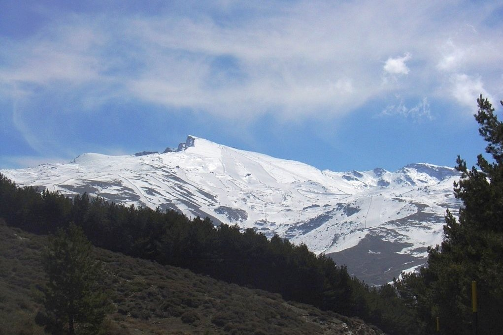 National Park of Sierra Nevada in Granada in Andalusia