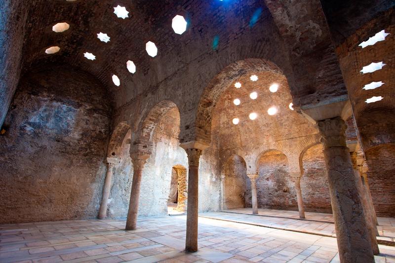El Bañuelo 11th century Hammam in Granada