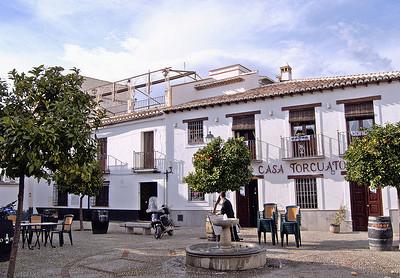 Terrace of Casa Torcuato